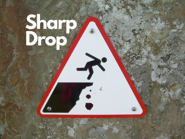 Sharp Drop